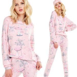NWT Wildfox Pink Paradise Flamingo Sweater